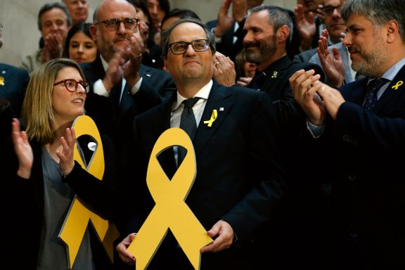 Separatistleder valgt til ny leder for Catalonia