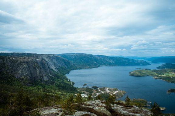 Her får du Norge i nøtteskall. Bli med på biltur i Vest-Telemark.