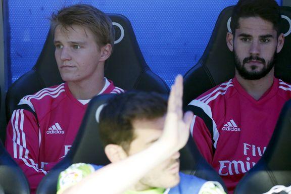 Ancelotti: - Ødegaard har gjort det bra, men må fortsette å jobbe hardt for A-lagsspill