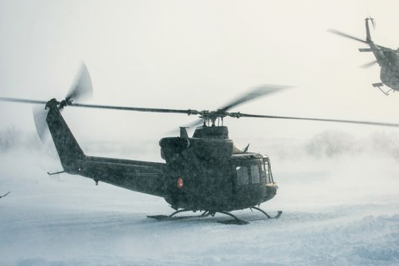 Flertall på Stortinget for å sikre Hæren helikopterstøtte i Nord-Norge