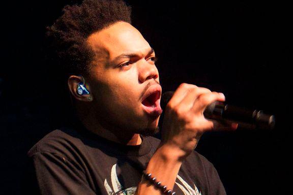 Chance The Rapper bobler over av overskudd og glede