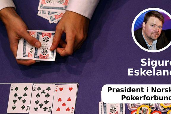 Norsk Pokerforbund vil ha klare regler for pokerklubber
