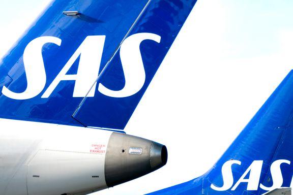 Krisetall for SAS: 85 prosent passasjerfall