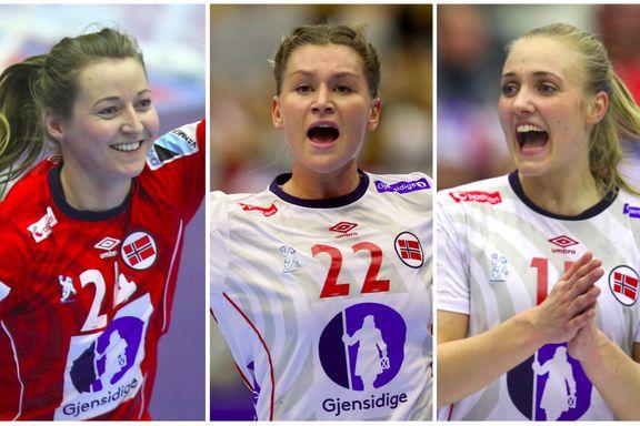 Trio tilbake på landslaget for første gang siden EM-suksessen