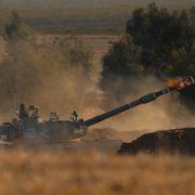 Israelske stridsvogner angriper mål på Gazastripen