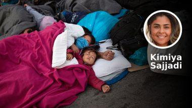 «Fortell dem at jeg er et menneske og ikke en flyktning», sa moren