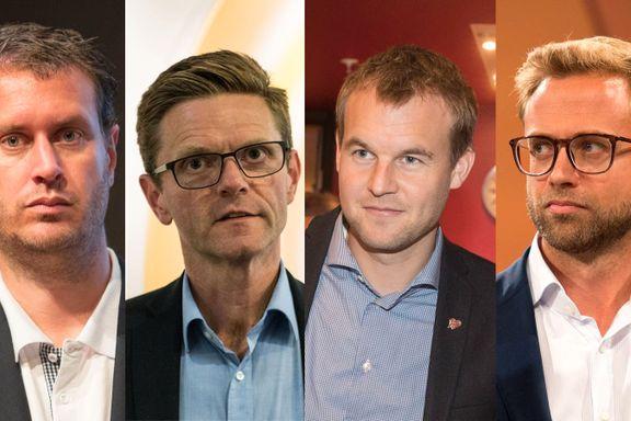 Disse fire kan kan avgjøre om Ernas regjering overlever