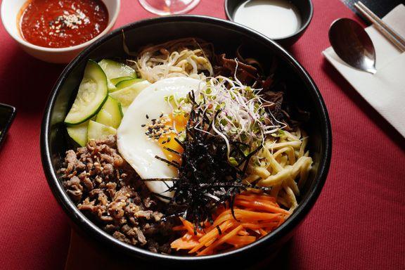 Festmat, grønn is og klissen ris. Her får du ekte koreanske retter.