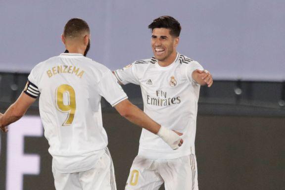 Real Madrid ett steg nærmere seriegull