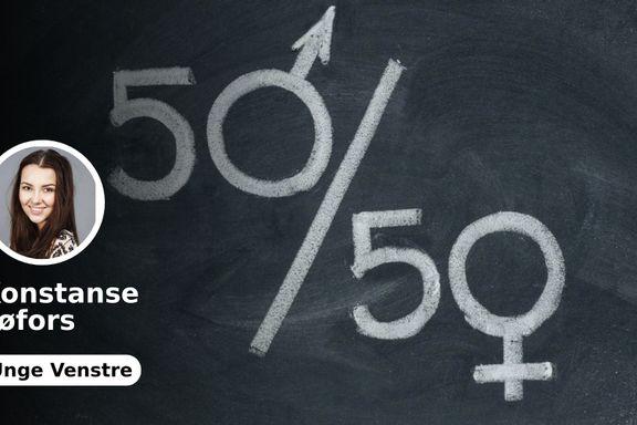 Ved å todele fødselspermisjonen fjerner vi den ekstra risikoen ved å ansette og forfremme kvinner