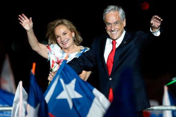 Piñera vant valget i Chile