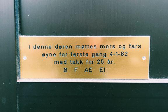 «Ø F AE EI»-mysteriet i Stensberggaten