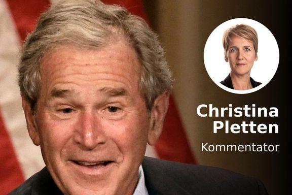 Nei, alt var ikke bedre før. Bush var en like farlig president som Trump.