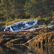 Mann død etter at fritidsbåt kjørte på land - kvinne livstruende skadet