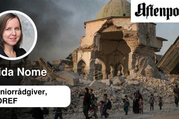 Tillit er den første broen som må gjennoppbygges i Mosul