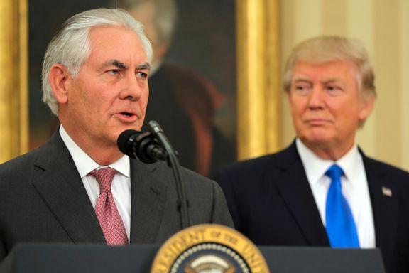 Trumps utenriksminister ignorerte spørsmål om bruk av kjemiske våpen i Syria