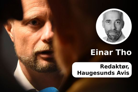 Er det greit at helseministeren nekter å la seg intervjue av Haugesunds Avis, men svarer Aftenposten?