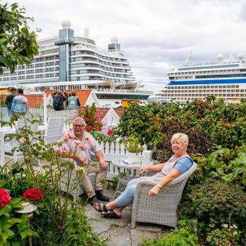 De er gjestfrie folk, men 6000–7000 turister om dagen kan bli litt mye