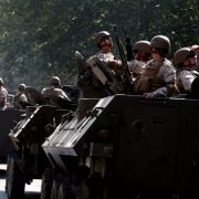 Nye protester i Chile: Soldater i gatene for første gang siden diktaturets fall