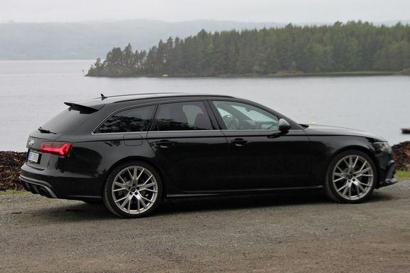 Test av Audi RS6 Performance: – En klin kokos stasjonsvogn