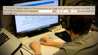 Dansk advokatfirma sender «trusselbrev» til norske nettbrukere