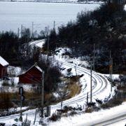 Bergensbanen er stengt