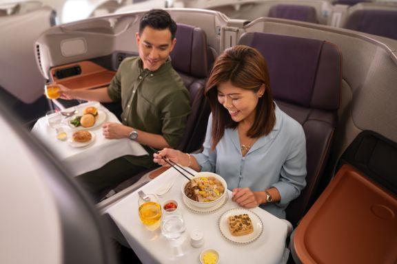 Singapore Air bruker fly som restaurant. Vil norske flyselskap gjøre det samme?