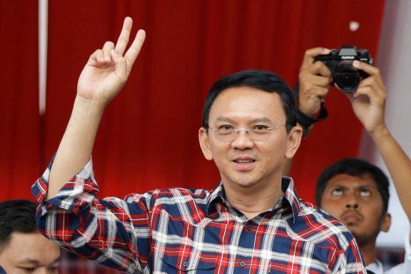 Indonesia har flest muslimer i verden. Nå kjemper en kristen guvernør om å bli valgt til ny leder.