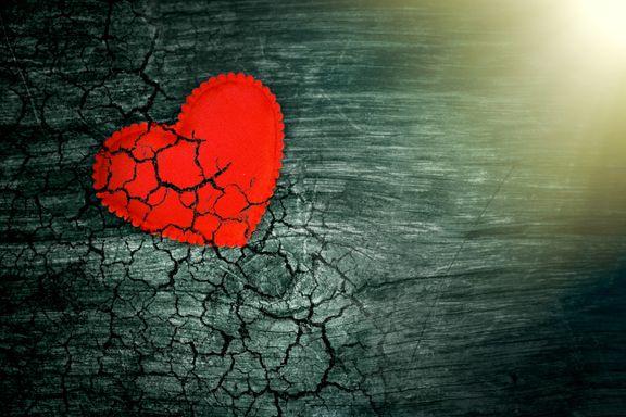 Mamma og pappa skilte seg. Det knuste hjertet mitt.
