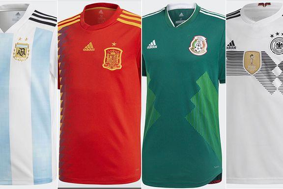 Adidas-bonanza: Hvis Belgia spiller like bra som drakten er, vinner de VM