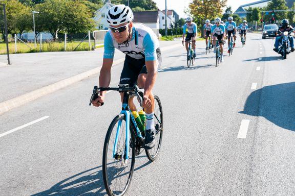Team Coop-rytter vant etapperitt på Rhodos