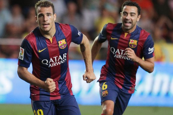 Ung debutant avgjorde for Barcelona