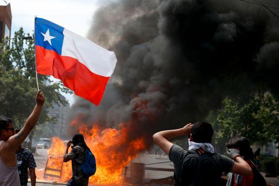 FN-granskergruppe til Chile etter demonstrasjoner