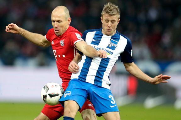 Jarstein og Skjelbred hadde suverene Bayern München i kne - så dukket Lewandowski opp seks minutter på overtid