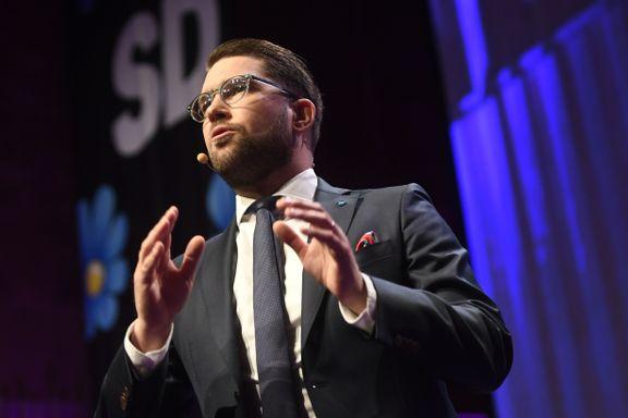 «Sverigedemokraterna er kommet langt i å få fjernet rasiststempelet. De andre partiene synes bare ikke å ha skjønt det.»