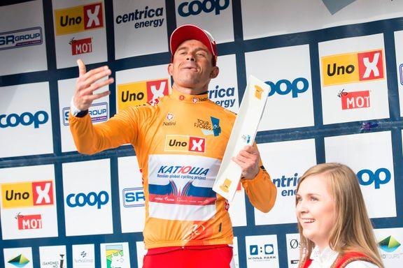Ny Kristoff-seier i Tour de Fjords: - Følte jeg hadde god kontroll