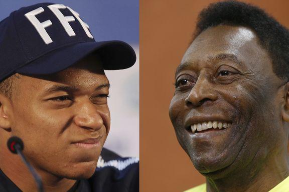 VM-studio: Stjerneskuddet fikk Pelé til å frykte for tronen. Slik svarte tenåringen