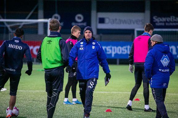 Hødd tapte årets første treningskamp. AaFK-spiller snart klar.