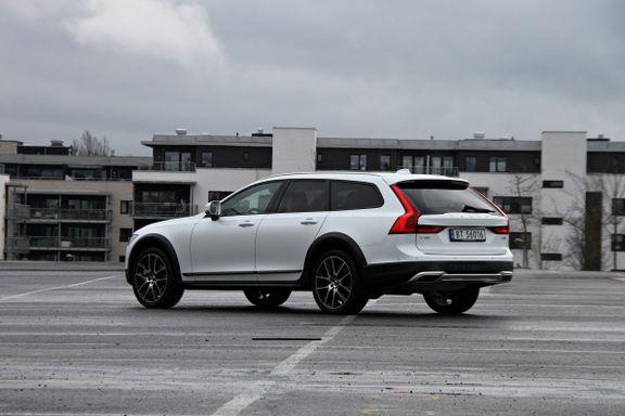 Test av Volvo V90 Cross Country: En bil som skal tåle litt mer juling enn den vanlige stasjonsvognen