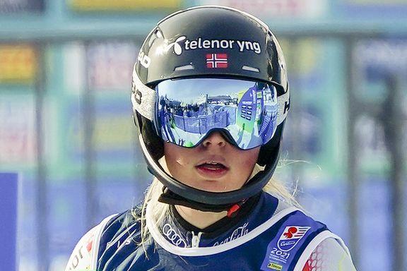 Brudd i beinet for norsk alpinthåp – sesongen over