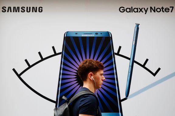 Amerikanske luftfartsmyndigheter: Ikke bruk den nye Samsung-mobilen på fly