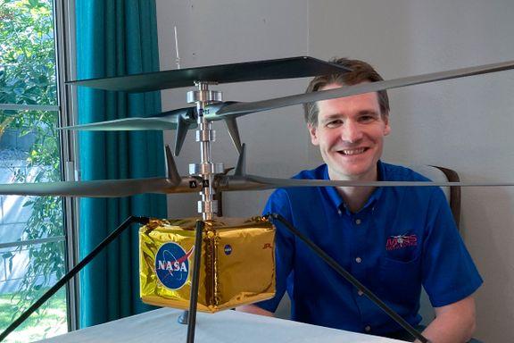 Trønder skal fly helikopter på Mars: – Ikke en typisk «rom-entusiast»