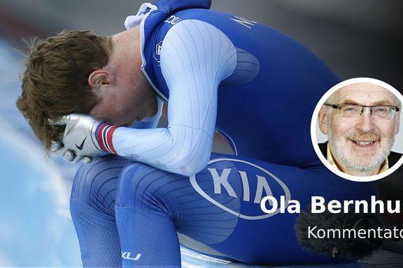 «Dette er idrett. Pedersen falt for egen tabbe.»
