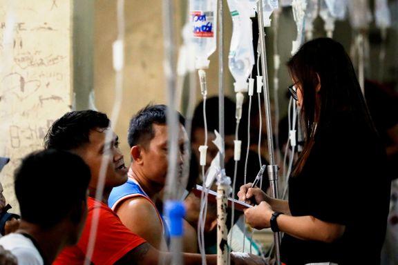 Filippinene: Elleve døde og over 300 på sykehus etter å ha drukket kokoslikør