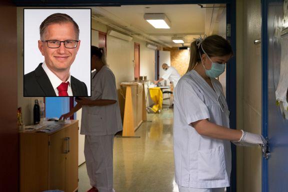 Ordfører frykter for sykepleiernes sikkerhet, men Høie avviser at det er mangel på smittevernutstyr