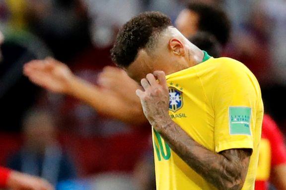 Neymar og Brasil på hodet ut av VM: Belgia til semifinale