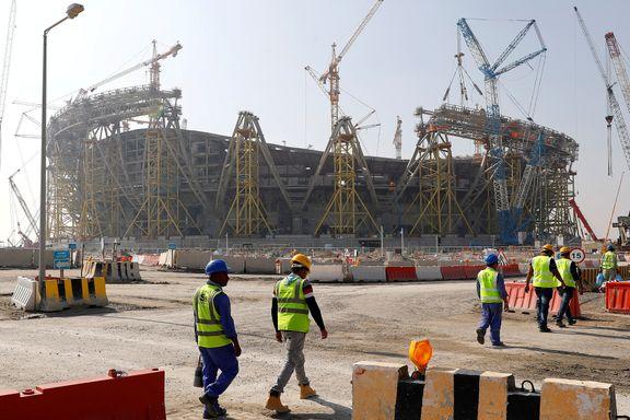 Maner breddefotballen til Qatar-aksjon