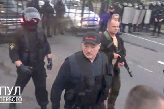 Demonstrantene trodde de hadde vunnet. Så dukket presidenten opp med gevær.