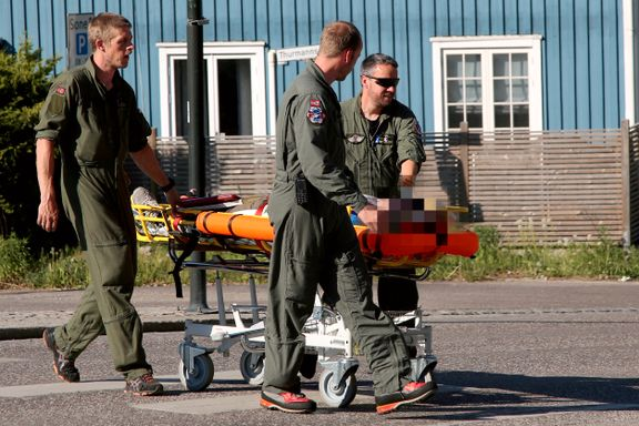 Fløyet til sykehus etter ulykke med paraglider