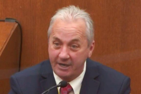 Maktbruken mot George Floyd helt unødvendig, sa politisjef i retten